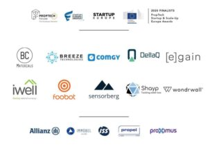 PropTech Startup and Scale-up Europe Awards 2020 finalists