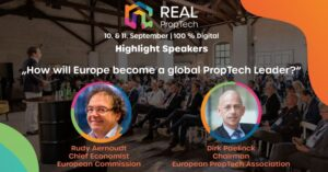Our CEO's keynote speech with Prof. Rudy Aernhoudt at Real PropTech 2020