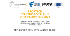 PropTech Startup & Scale-Up Europe Awards 2021